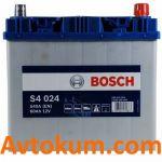 Аккумулятор Bosch S4 6СТ-60 R+ Azia 0092S40240