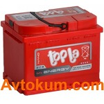 Аккумулятор Topla Energy 6СТ-60-А3E R+