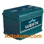 Аккумулятор Westa Premium 6CT-60 L+