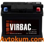 Аккумулятор Virbac Classic 6СТ-60-А3E R+